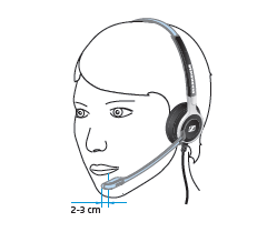 Where Should My Microphone Be Positioned Sennheiser Customer Service