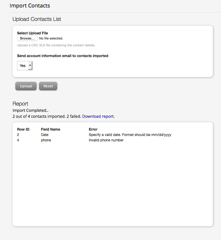 Import contacts from Spreadsheets to HappyFox - HappyFox Support
