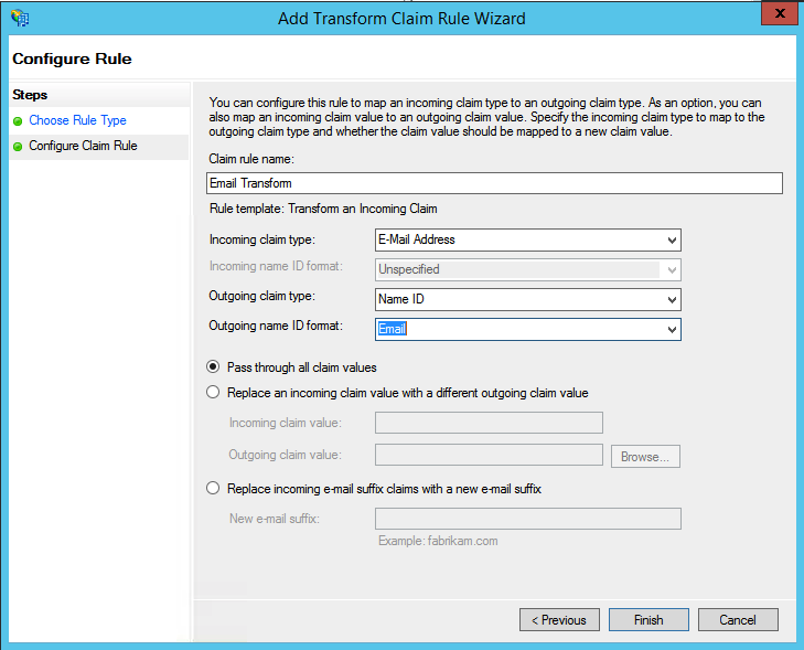How to set up single sign on using Active Directory with