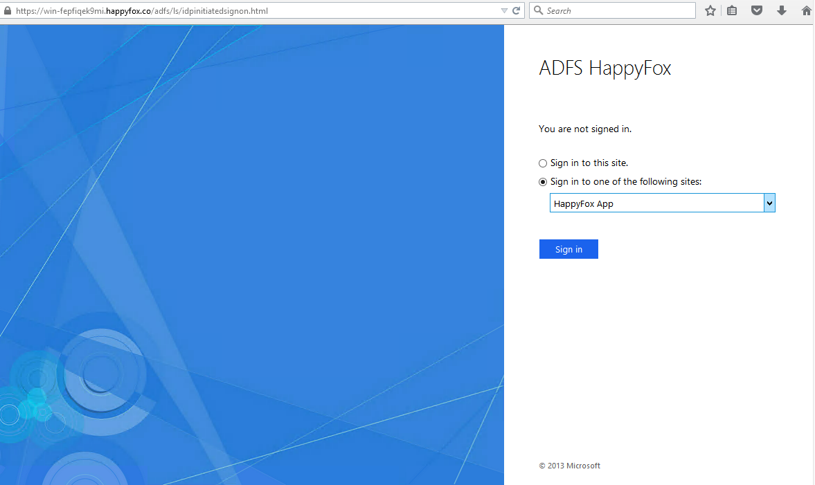 How To Set Up Single Sign On Using Active Directory With Adfs